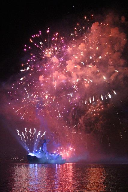 Organizacja profesjonalnego pokazu fajerwerków