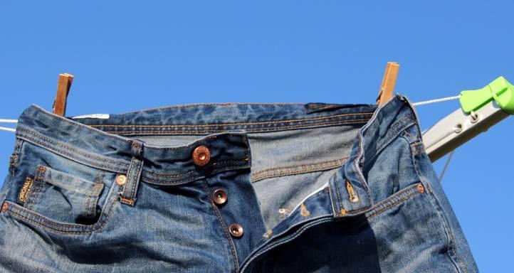 Wygodne spodnie jeansowe