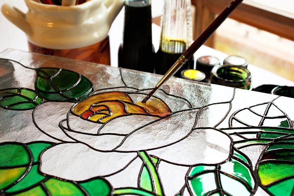 malarstwo na szkle