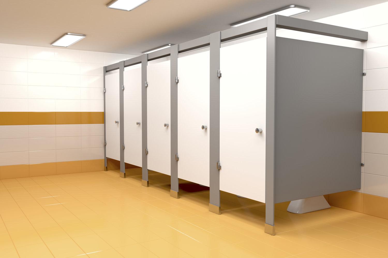 publiczna kabina WC
